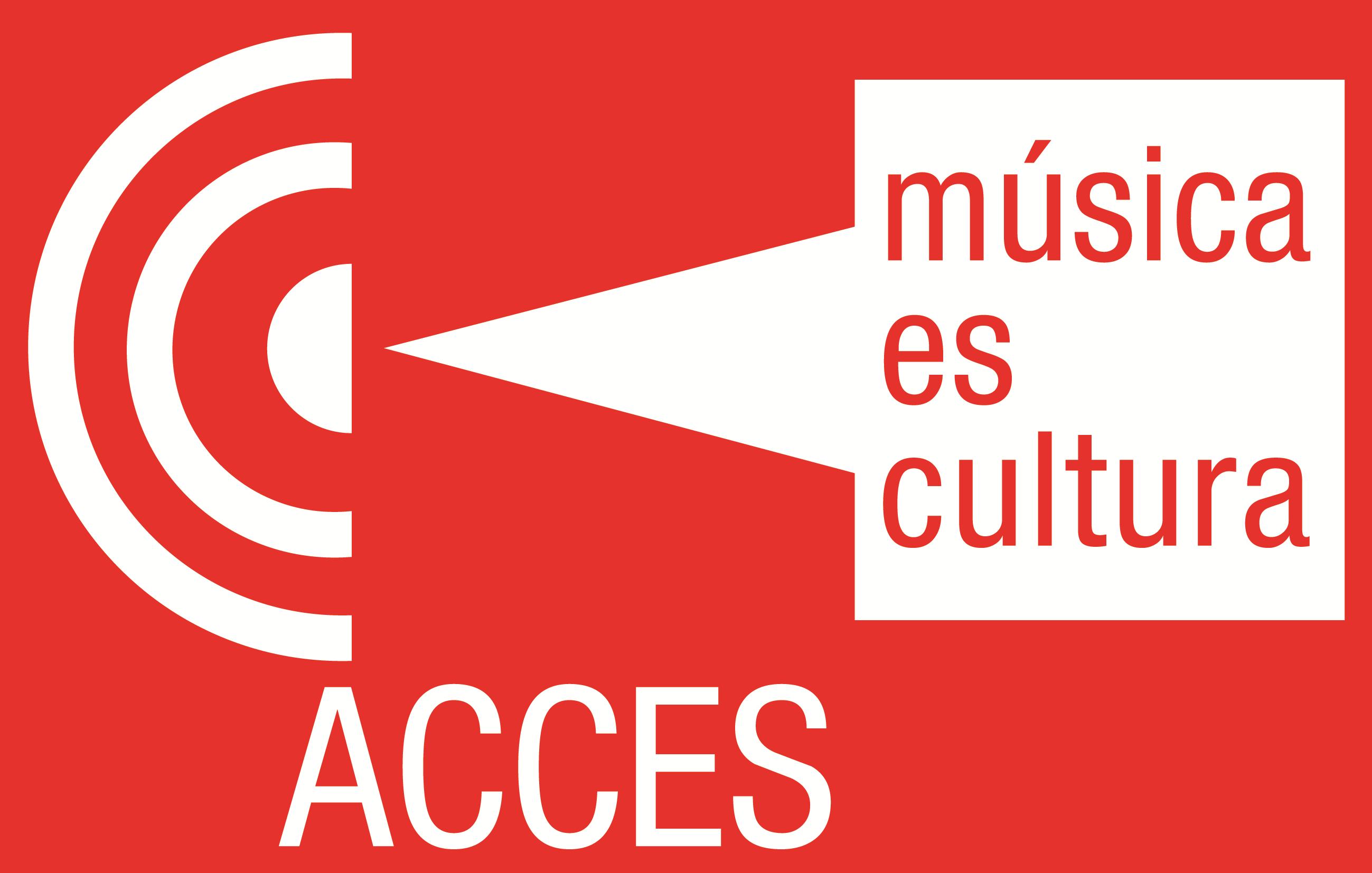 Logo y Lema Acces
